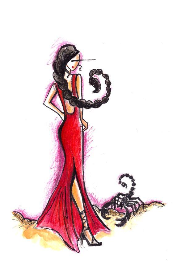 #scorpio #woman #art ♏ scorpioquotes.com