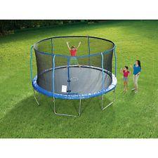 Stats Trampoline with Steel Flex Enclosure - 14 foot