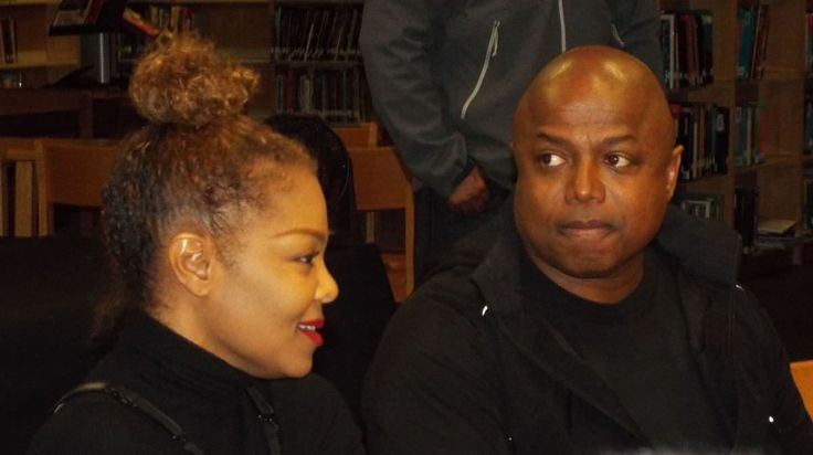Janet & Randy Jackson at Roosevelt High School in Gary Indiana, 10/27/2017