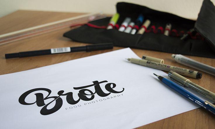 https://flic.kr/p/KCYtHA | Brote hand-lettering logo