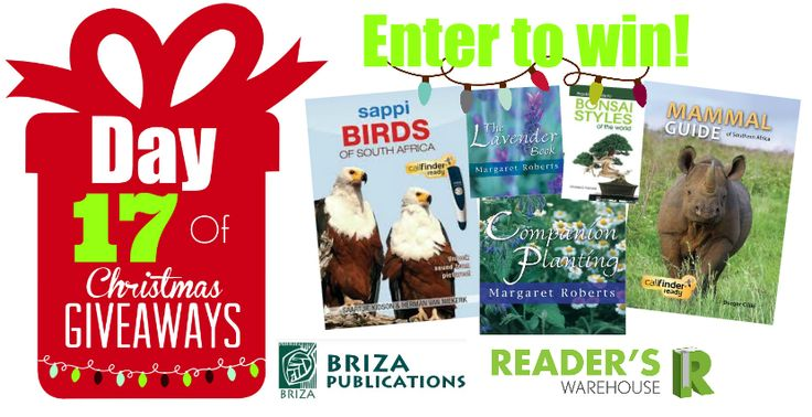 Day 17 of Christmas Giveaways sponsored by Briza Publications is a dream for all nature enthusiasts. Get your entries http://bit.ly/Day17Hamperin: