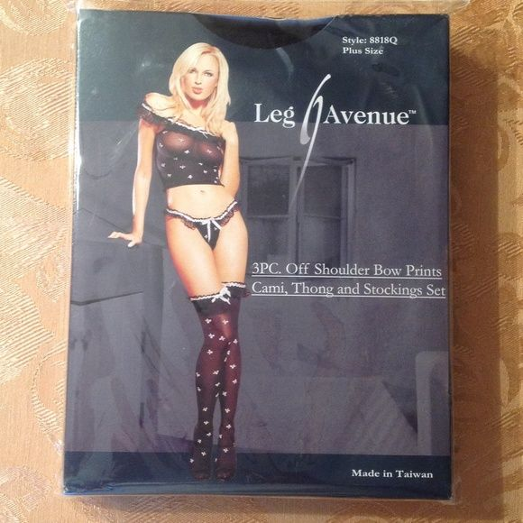 PLUS SIZE LINGERIE NEW IN THE BOX  STYLE: 8818Q PLUS SIZE LEG AVENUE Intimates & Sleepwear
