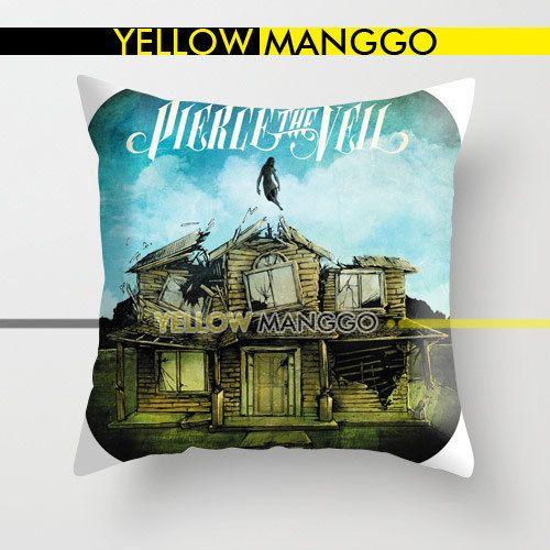 "Pierce The Veil Cover Pillow Case Cover Bedding 18""x18"
