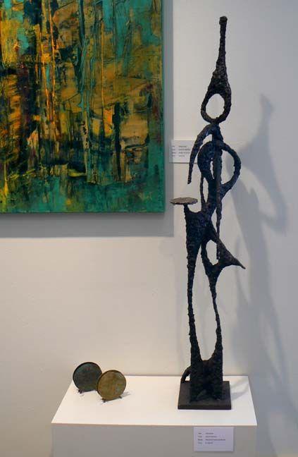 James Bearden metal sculpture