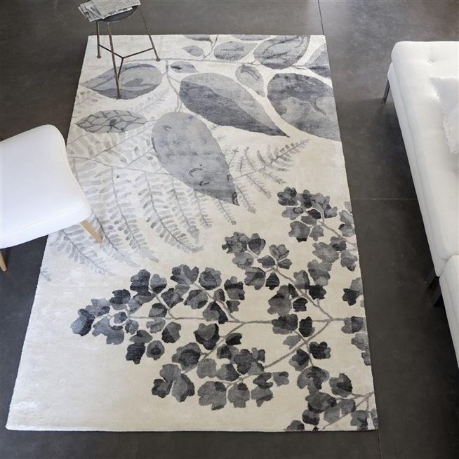 Jindai Graphite Rug | Designers Guild at Pedroso & Osório  #designersguild #pedrosoeosorio #rug  www.pedrosoeosorio.com