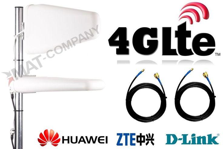 LTE Antenne 4G Antenna Verstärker Outdoor Telekom Speedport Hybrid Router SMA