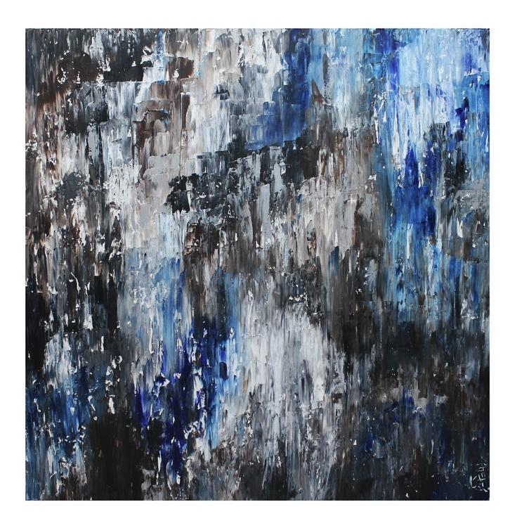 Untitled 34, 36x36, Acrylic on Canvas, 2011
