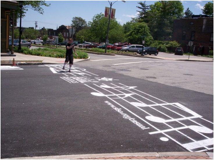 25+ Unbelievable Pedestrian Crossing Street Art