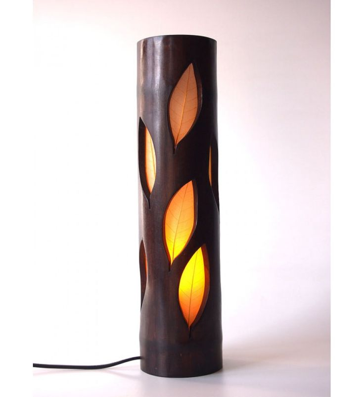 Wood Lamp, Bedside Lamp