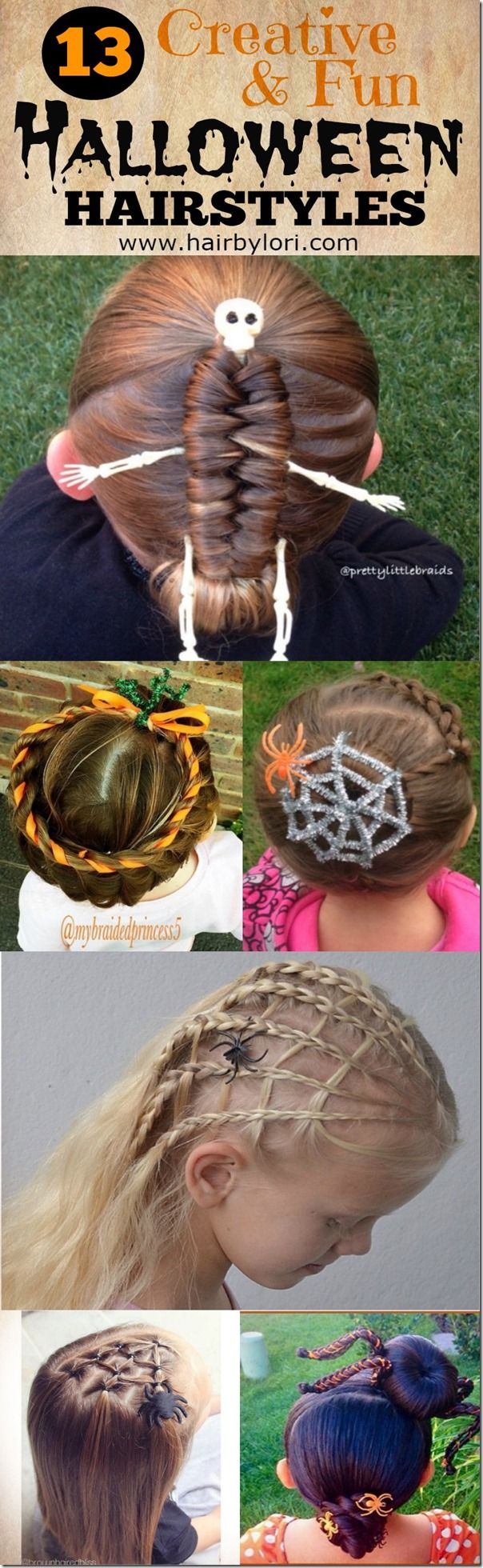 13 Creative Halloween Hairstyles