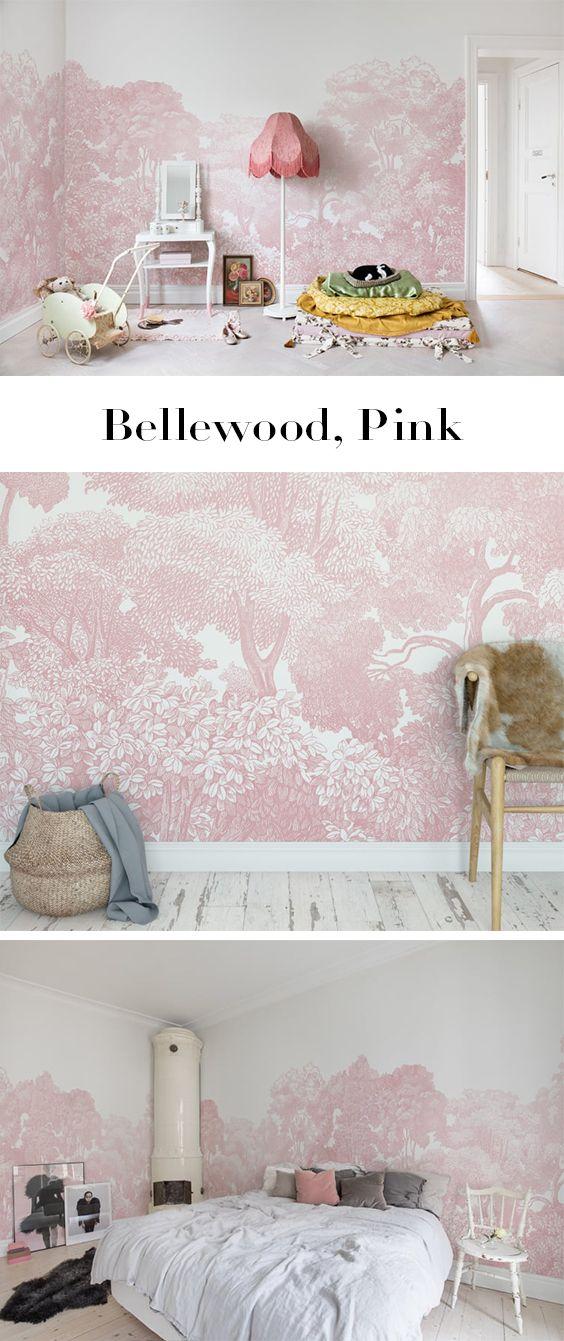 Bellewood Pink Florale Tapeten Und Inspiration Pinterest Pink