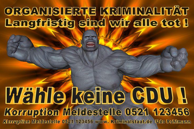 Wähle keine CDU