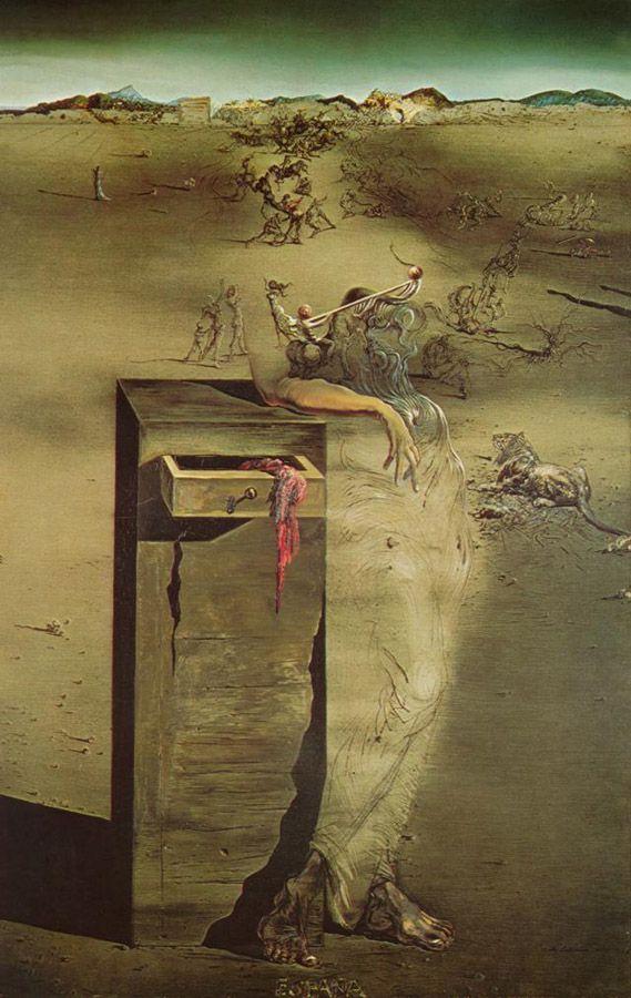 España (1938) - Salvador Dalí                                                                                                                                                      More