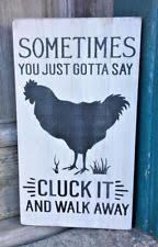 Image result for funny chicken signs