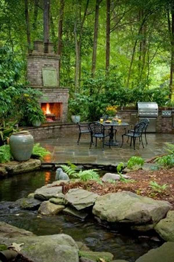 50 amazing outdoor spaces you will never want to leave - Backyard Space Ideas
