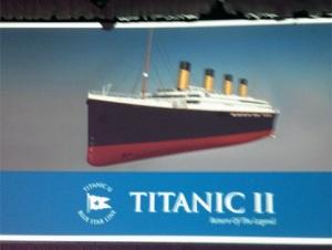 Australian Billionaire Unveils Blueprints Of Titanic II -