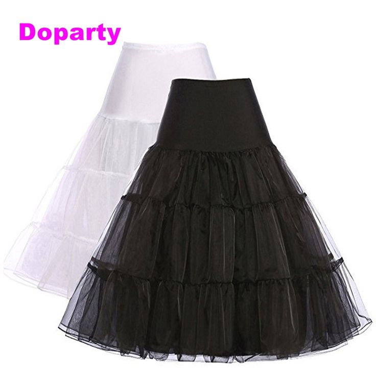 Doparty XS3 skirts bridal cheap white Wedding accessories tulle ponytube for girls ponytail under the dress with a lush skirt