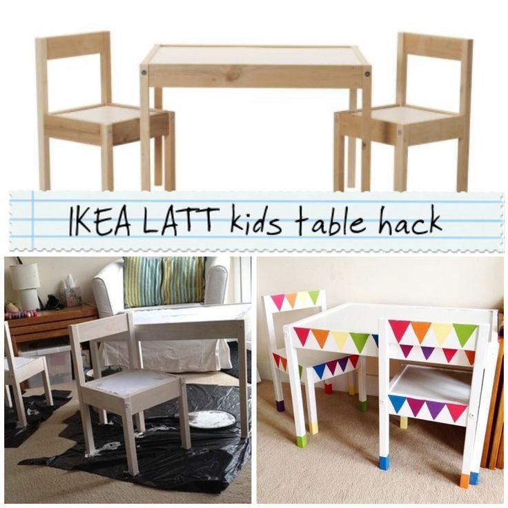 17 best images about ikea latt table hack on pinterest - Habitaciones de ikea ...