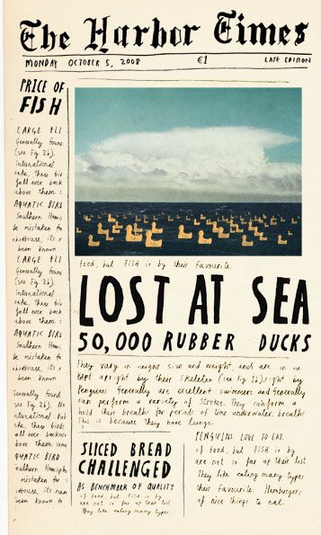 LOST AT SEA- 50,000 Rubber Ducks. This is NO laughing matter!