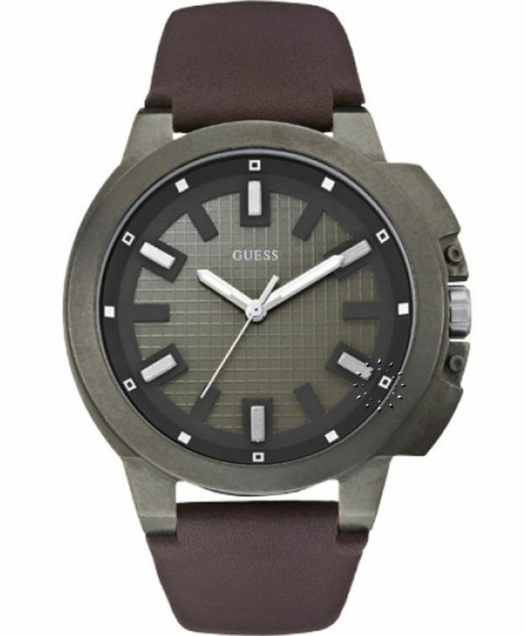 GUESS Classic Brown Leather Strap Μοντέλο: W0382G2 Η τιμή μας:135€ http://www.oroloi.gr/product_info.php?products_id=39890