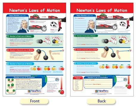 newton's laws of motion worksheets | Newton's Laws of Motion Bulletin ...