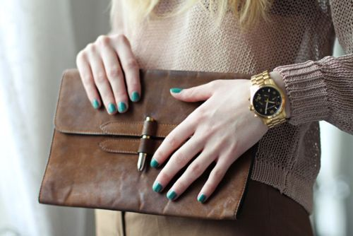 nails & clutch