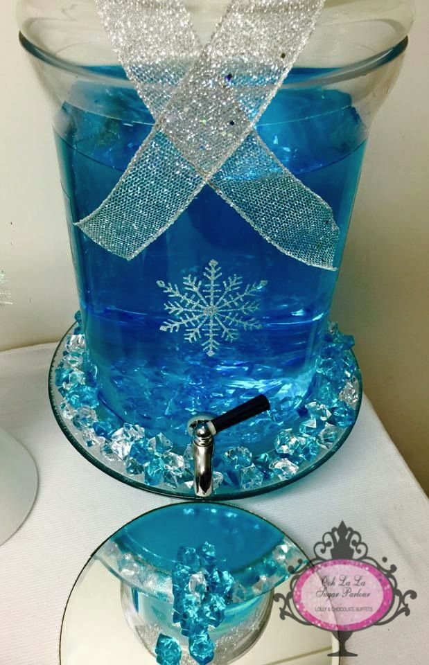 Ooh la la Sugar Parlour - Frozen Lolly Buffet.....Melted Ice