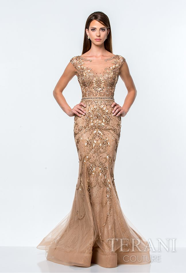 Best 25  Nude evening dresses ideas on Pinterest | Blush prom ...