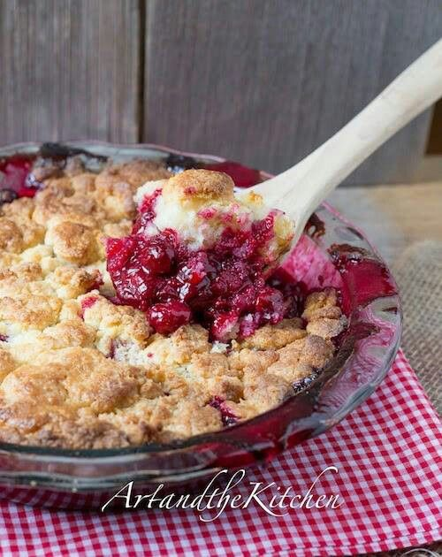 Jack Daniels cherry cobbler pie | sweets A Girl could Die For | Pinte ...