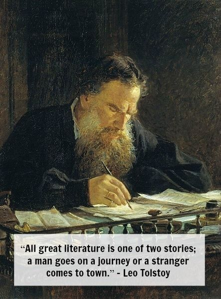 Leo Tolstoy On Story Telling