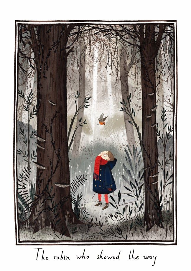 Júlia Sardà - Illustration for The Secret Garden, written by Frances Hodgson Burnett.