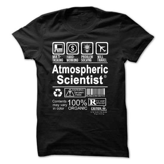 Best Seller - ATMOSPHERIC SCIENTIST - #gifts for girl friends #small gift. LIMITED TIME => https://www.sunfrog.com/Faith/Best-Seller--ATMOSPHERIC-SCIENTIST.html?68278