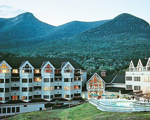 The Mountain Club on Loon, a four-season luxury resort, is located on the Kancamagus Highway, in the heart of the White Mountain National Forest. The resort boasts slopeside accommodations to New Hampshire's most popular ski area during the winter months.