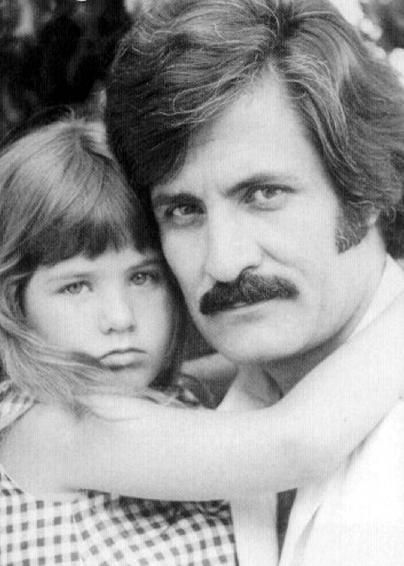 Jennifer Aniston and John Aniston-John plays victor kiriakis. That's his real life daughter-Jennifer Aniston