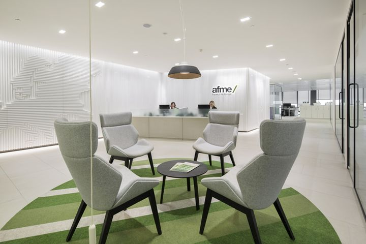 AFME Offices by Fabric Interiors  Architecture London  UK