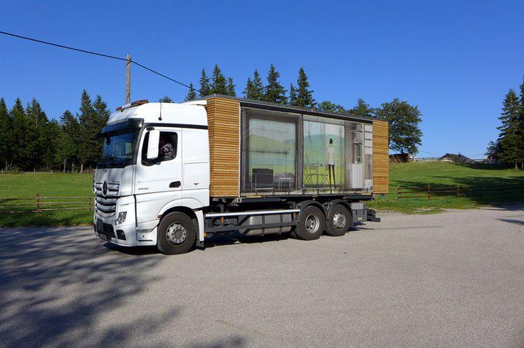 simple home tiny house gerhard feldbacher austria on truck humble homes portable. Black Bedroom Furniture Sets. Home Design Ideas
