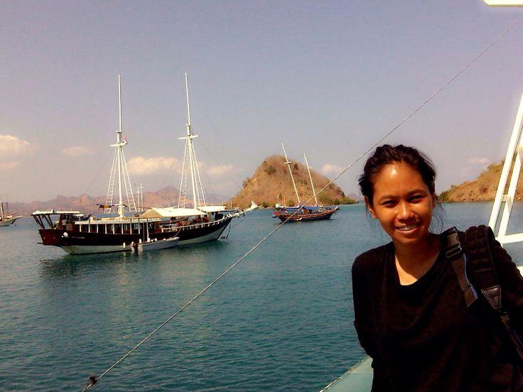 The Harbor, From Labuan Bajo heading to Rinca Island. Flores NTT - Indonesia