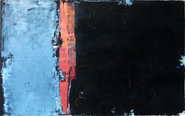 Obraz olejny - Niebieski VI