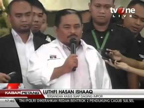 Pengunduran diri Luthfi Hasan Ishaaq dari Presiden PKS