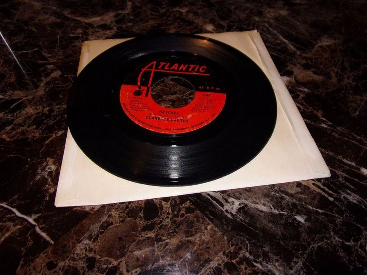 Clarence Carter: Patches / Say It One More Time / 45 Rpm/ Atlantic 2748 / 1970 #ClassicRBSoul