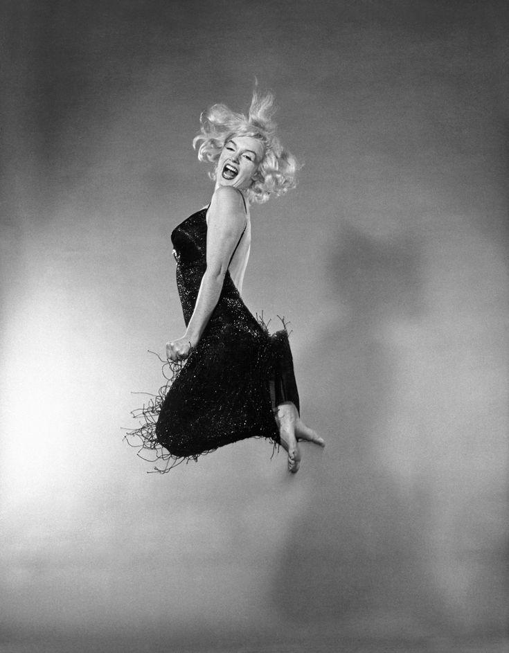 American actress Marilyn Monroe. Halsman's studio. New York City. USA. 1959. © Philippe Halsman / Magnum Photos