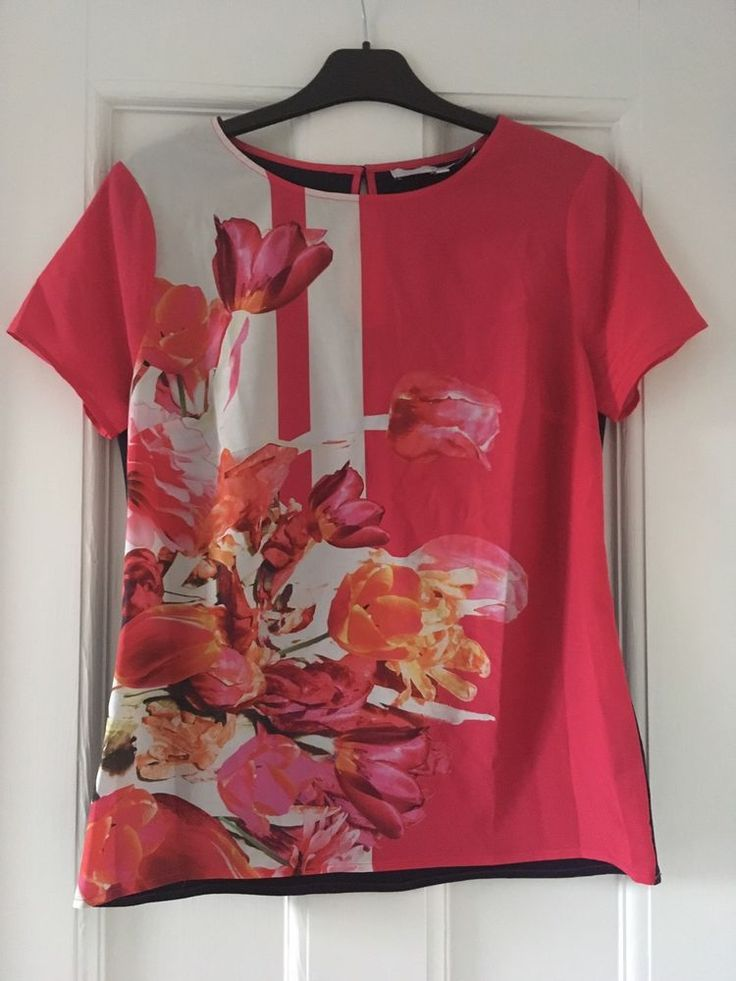 Preen Edition Floral Satin Top UK 12 For Debenhams  | eBay