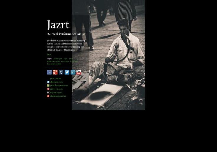 Jazrt's page on about.me – http://about.me/jazrt