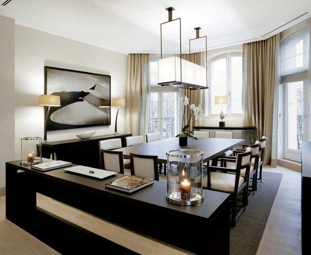 Un interno moderno a Parigi