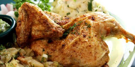 Kylling with Potato Salad