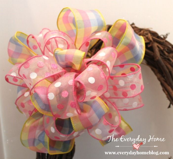 How To Make A Double Ribbon Bow Like A Pro Wreaths Ribbons And