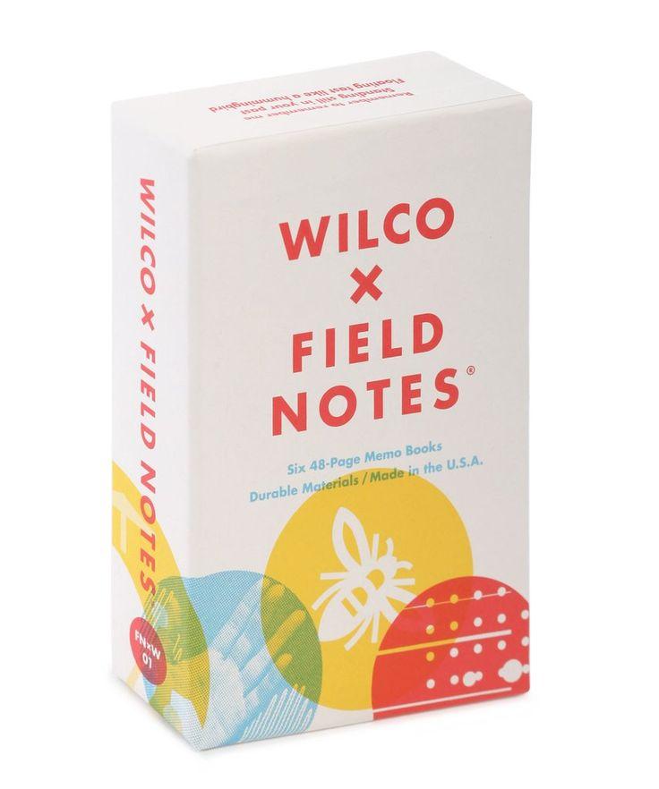 Wilco x field notes box set field notes note memo note box