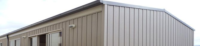 Board and Batten adds a dramatic look and interesting contrast to any home. The board is insect and mould resistant. Choose from 8 great colours. Call Vinyl Cladding Professionals for quality board and batten.