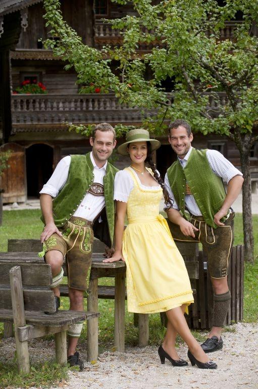 Lederhosen and Dirndl #austria #trachten #costume #lederhosen #dirndl #nature