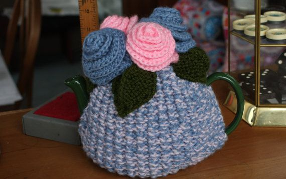 Funky Handknitted Tea Cosy